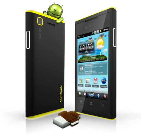 Viewsonic Viewphone 4s mit Android 4.0