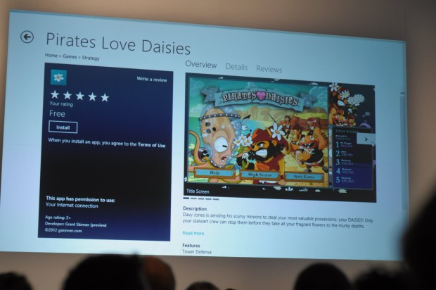 Windows Store in der Windows 8 Consumer Preview