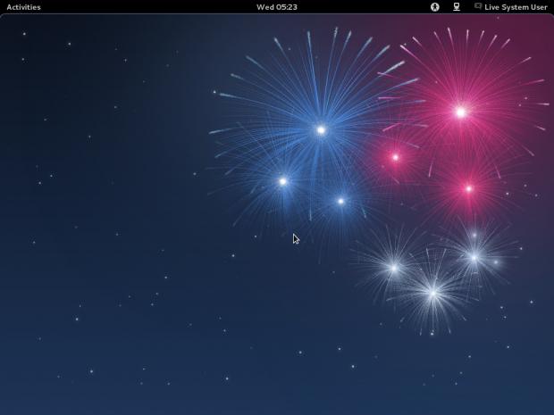 Fedora 17 Alpha mit Gnome 3.3.5