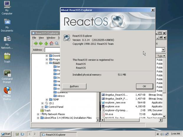 ReactOS 0.3.14