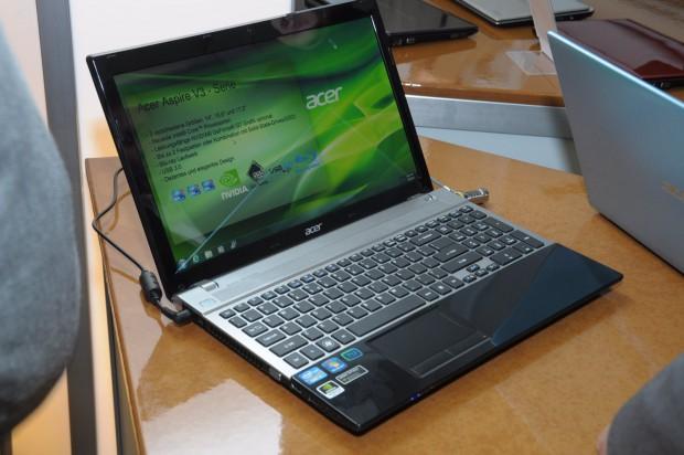 Acer Aspire V3 (Fotos: Andreas Sebayang/Golem.de)