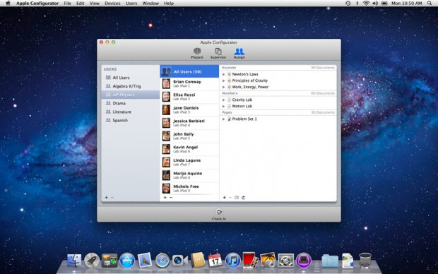 Apple Configurator (Bild: Apple)