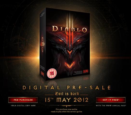 Diablo 3 Erscheinungstermin im Battle.net auf englisch ...