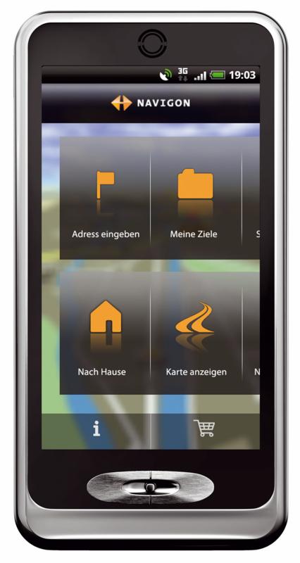 Garmins Navigationsapp: Navigon künftig für Android, iOS, Bada und Windows Phone -
