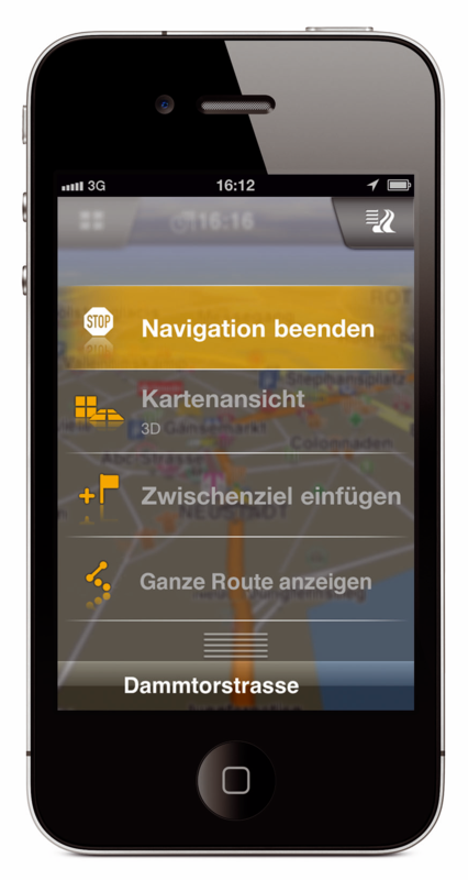 Garmins Navigationsapp: Navigon künftig für Android, iOS, Bada und Windows Phone -