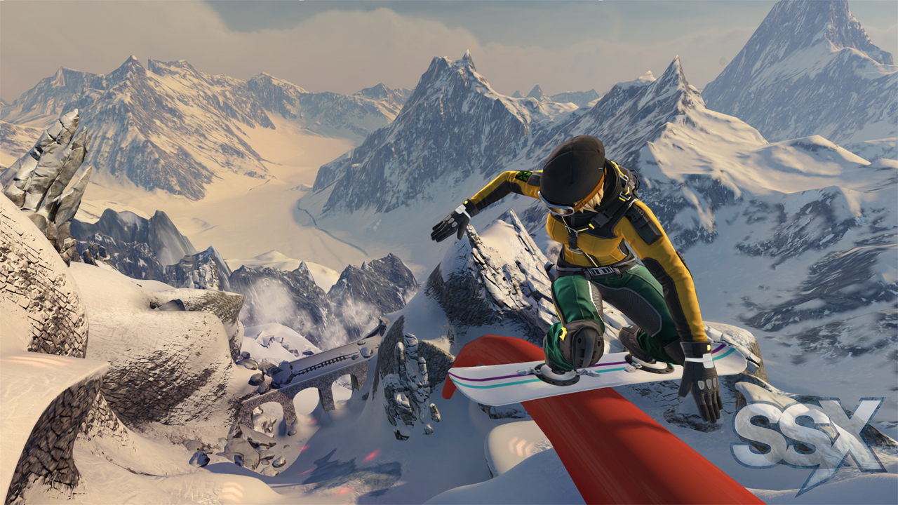 Test SSX: Survival-Funsport mit dem Snowboard - SSX