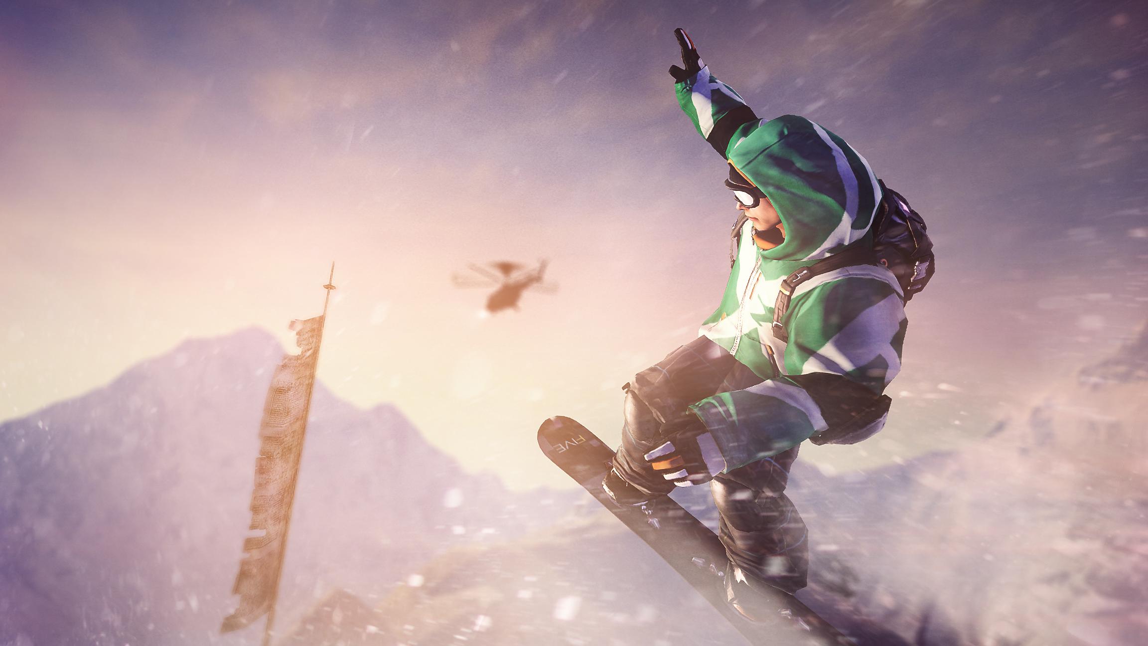Test SSX: Survival-Funsport mit dem Snowboard - SSX