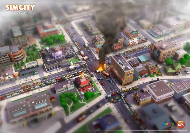 Artwork Sim City 5