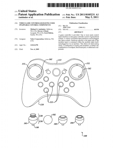 Valve Patent Controller