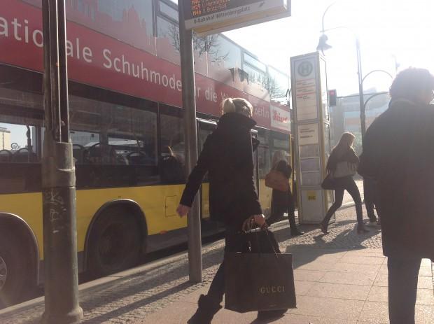 Schönes Wetter in Berlin: Wenn die Linse etwas verschmutzt ist, hat das iPad 3 Probleme mit der Sonne.