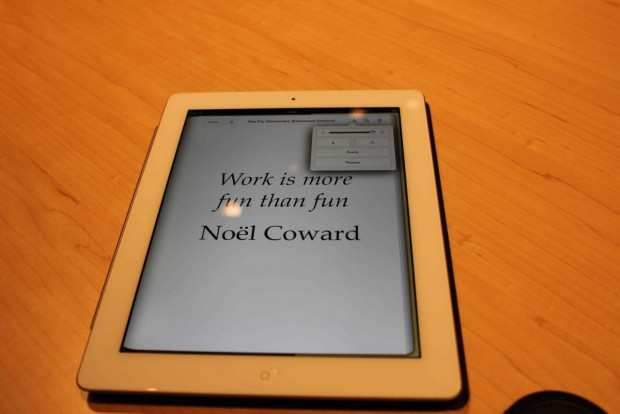 Hands on mit dem iPad 3 (Foto: Florian Weidhase/SFT)