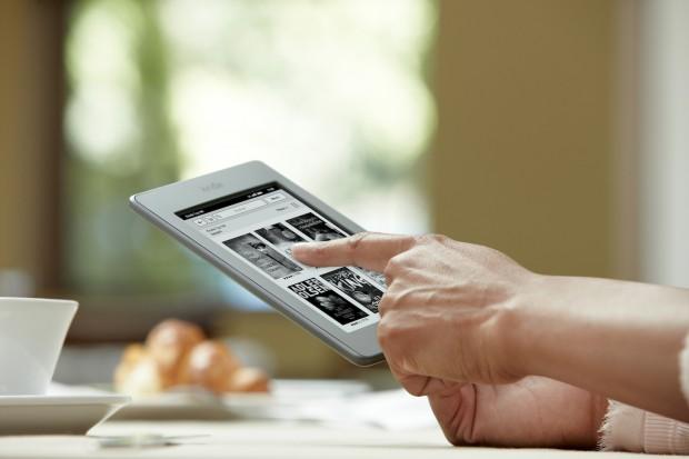 Kindle Touch - ab April 2012 bei Amazon.de (Bild: Amazon)