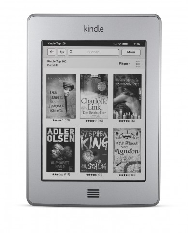 Kindle Touch - ab April 2012 bei Amazon.de (Bild: Amazon)
