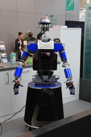 Armar III, der Haushaltsroboter des KIT (Foto: Werner Pluta/Golem.de)