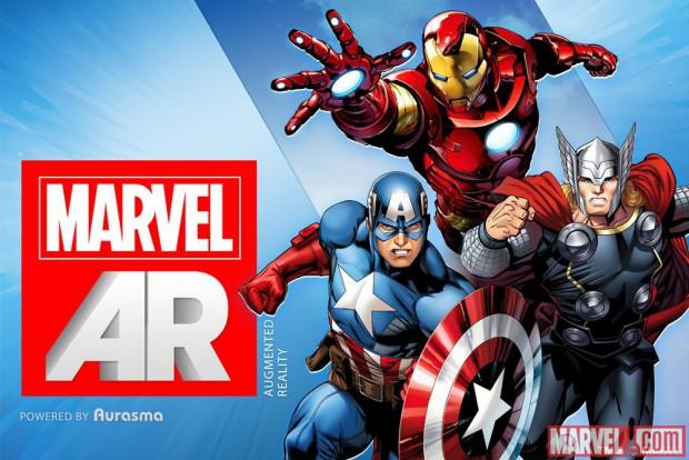 Mit Augmented Reality - Marvels Superhelden springen bald aus Comicbüchern (Bild: Marvel.com)