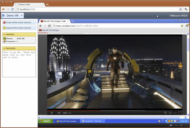 Videos in 720p sollen nahezu ruckelfrei, aber noch ohne Ton übertragen werden.