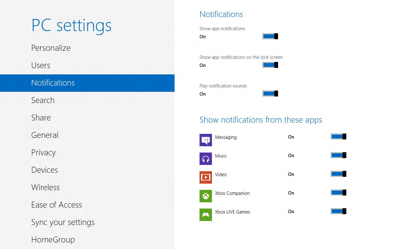 Windows 8 CP in der Praxis: Stabile Vorschau mit zwei Bedienungskonzepten durch Metro - Einige Optionen gibt's nur hier.