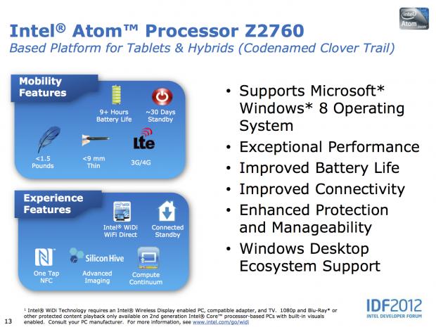 Intels Tablet-Pläne