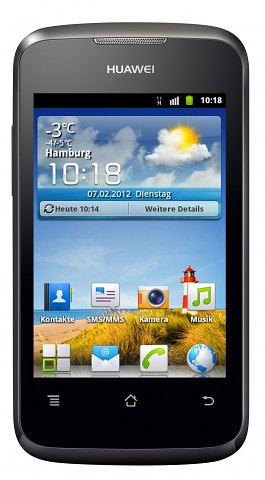 Smartphone Huawei Ascend Y200 mit Android 2.3