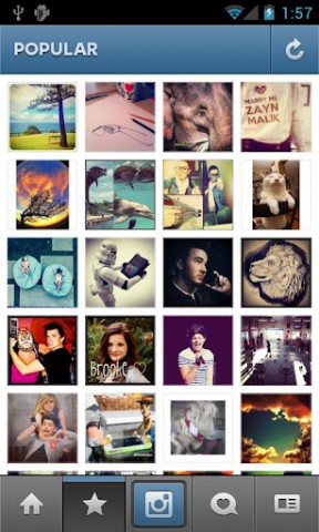Instagram für Android (Bild: Burbn)