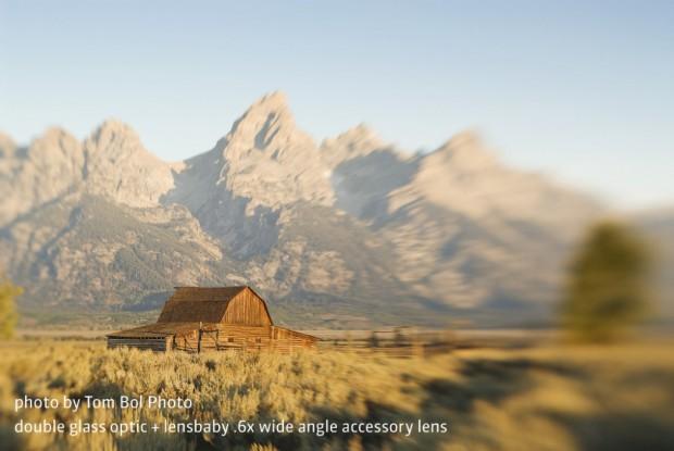 Foto mit dem Lensbaby Composer Pro (Bild: Tom Bol)