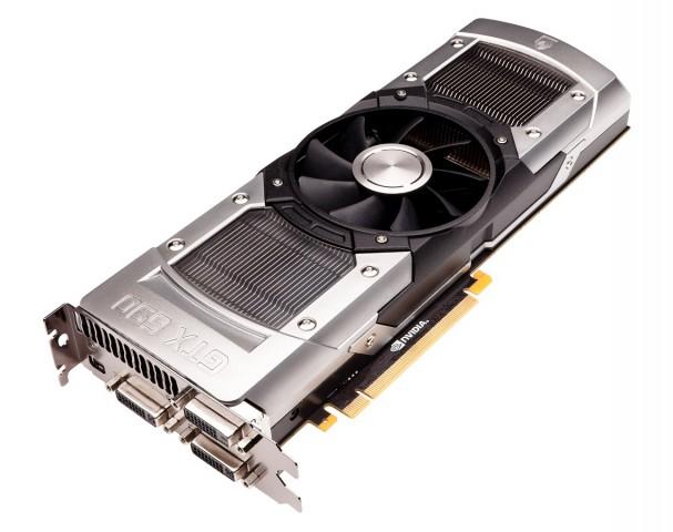 Die GTX-690 mit offenen Metallkühlern (Bilder: Nvidia)
