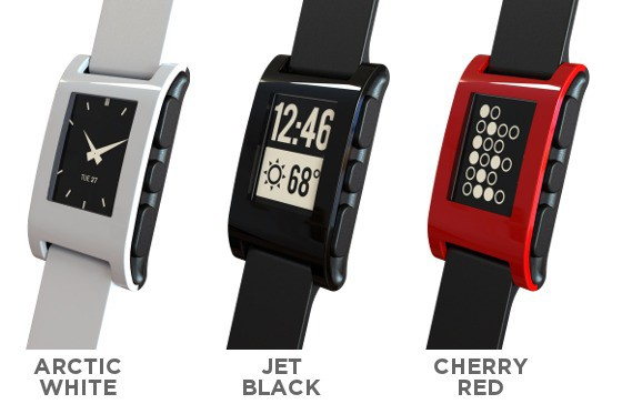 Pebble Smartwatch (Bild: Pebble)