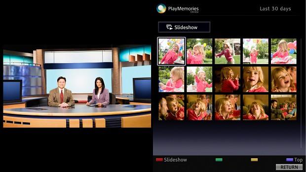 Playmemories Online auf Bravia-Fernsehern (Bild: Sony)