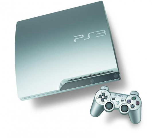 Playstation 3 in Satin Silver