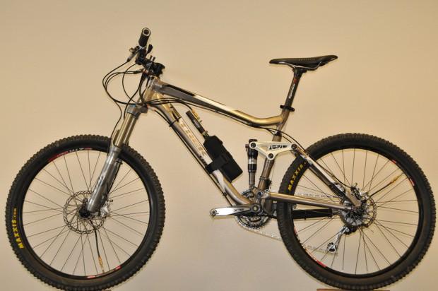 Mountainbike mit Adaptrac-System (Foto: Adaptrac)