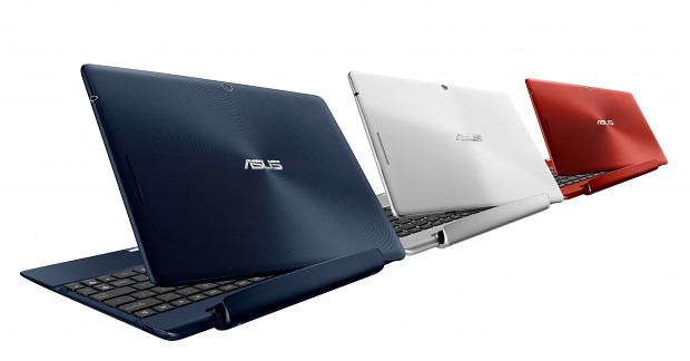 Transformer Pad TF300T/TF300TG/TF300TL - Tablets mit optionaler Docking-Tastatur (Bild: Asus)
