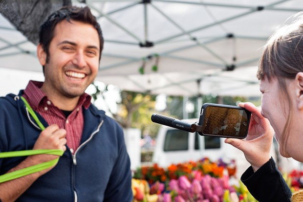 iPhone Boom Mic (Bild: Photojojo)