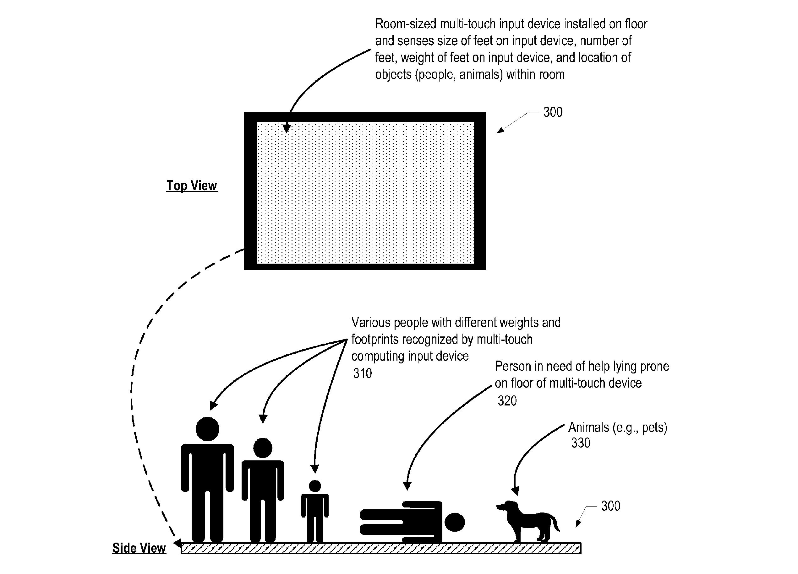 IBM-Patent: Multitouch-Fußboden als Alarmanlage der Zukunft -