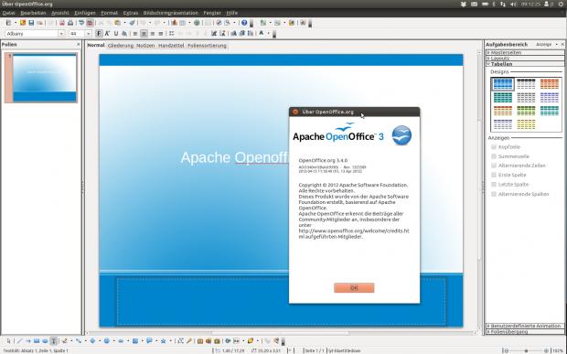 Apache Openoffice.org 3.4 RC