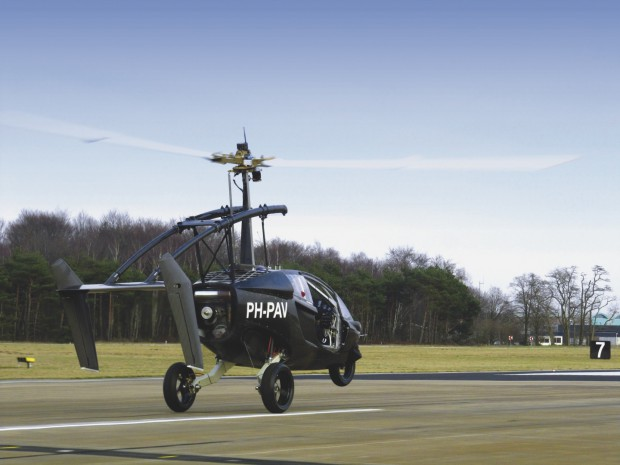 Pal-V One - die ersten Testflüge wurden absolviert. (Foto: Pal-V)
