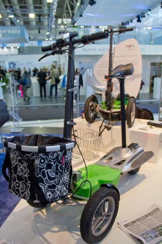 Der Elektroroller Scuddy (Foto: Werner Pluta/Golem.de)
