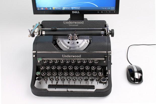USB-Schreibmaschine (Bild: Jack Zylkin)
