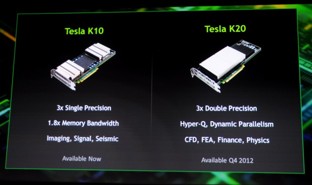 Die Tesla K20 wird die erste Karte mit den neuen Funktionen. (Fotos: Nico Ernst)