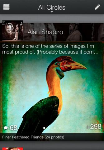 Google+-App/Quelle: googleblog.blogspot.co.uk