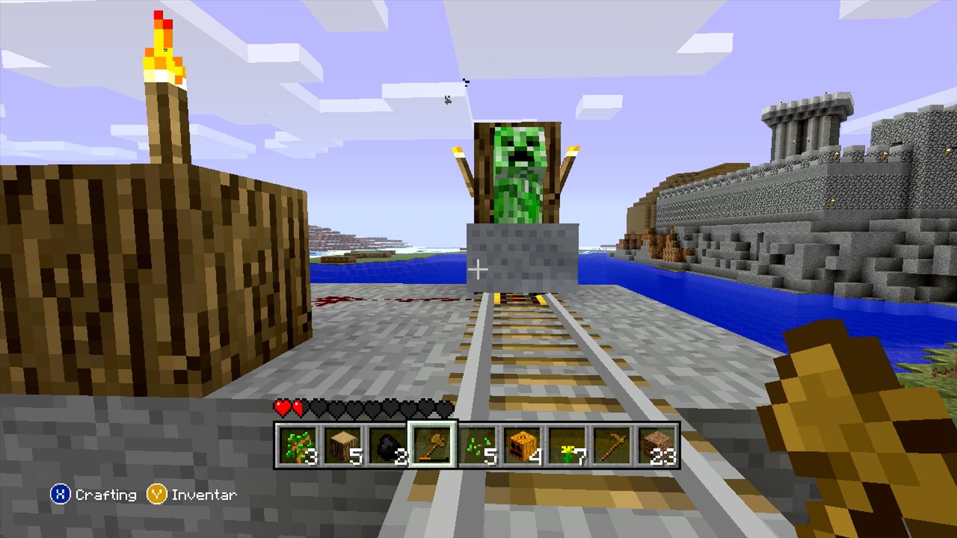Minecraft Xbox 360 Edition Test-Video: Nur für ...