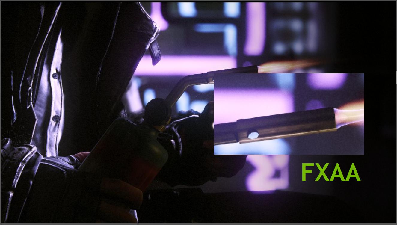 Grafiktreiber: Geforce 301.42 für Desktop und Notebook mit neuen Funktionen - FXAA im Vergleich...