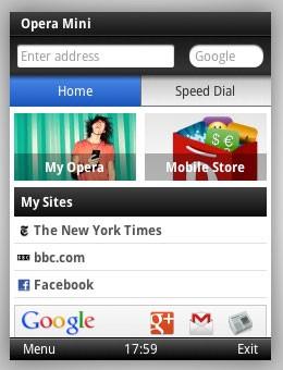 Opera Mini 7 mit Smart Page