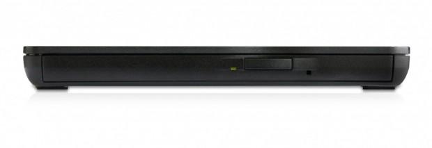 Samsungs USB-DVD-Brenner SE-218BB ist nur 14 mm hoch. (Bild: Samsung)
