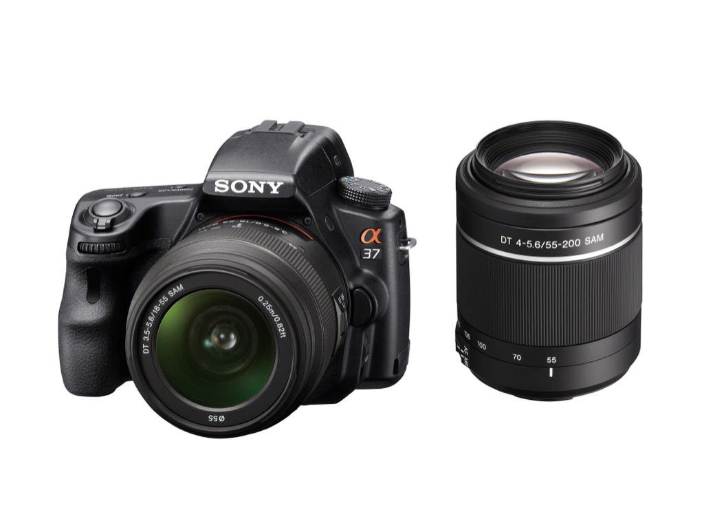 Sony: DSLR mit Kompaktkamera-Genen - Sony SLT-A37 (Bild: Sony)