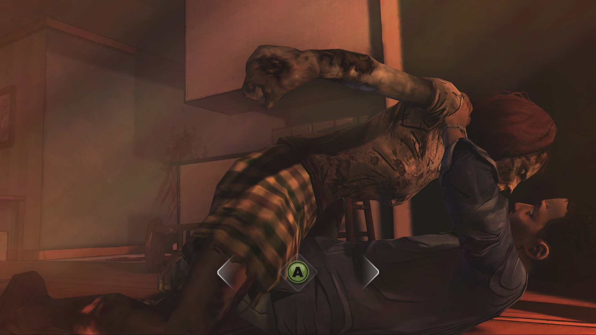 Test-Video The Walking Dead: Gefühlschaos nach der Zombieapokalypse - Lee Everett wird von einer ehemaligen Babysitterin bedroht.
