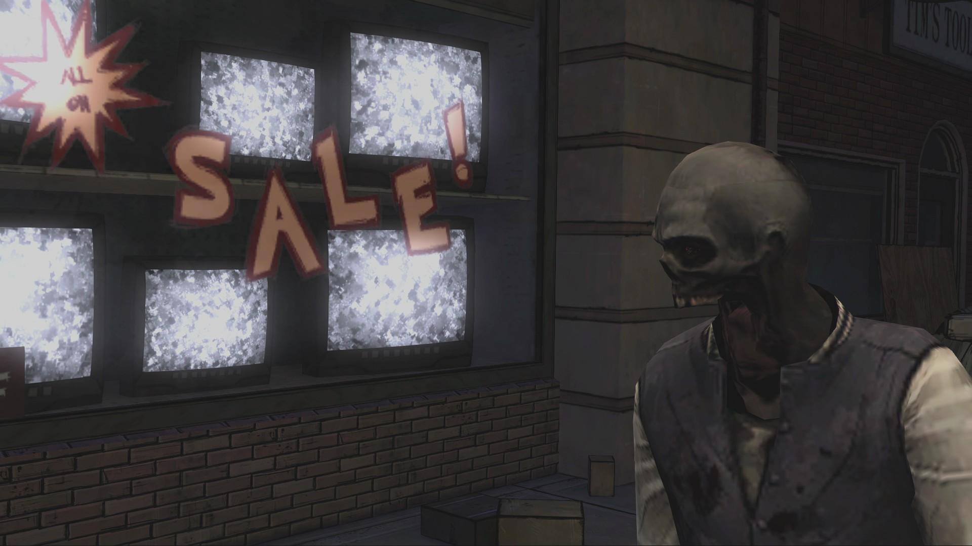 Test-Video The Walking Dead: Gefühlschaos nach der Zombieapokalypse - Zombie entdeckt Sommerschlussverkauf.