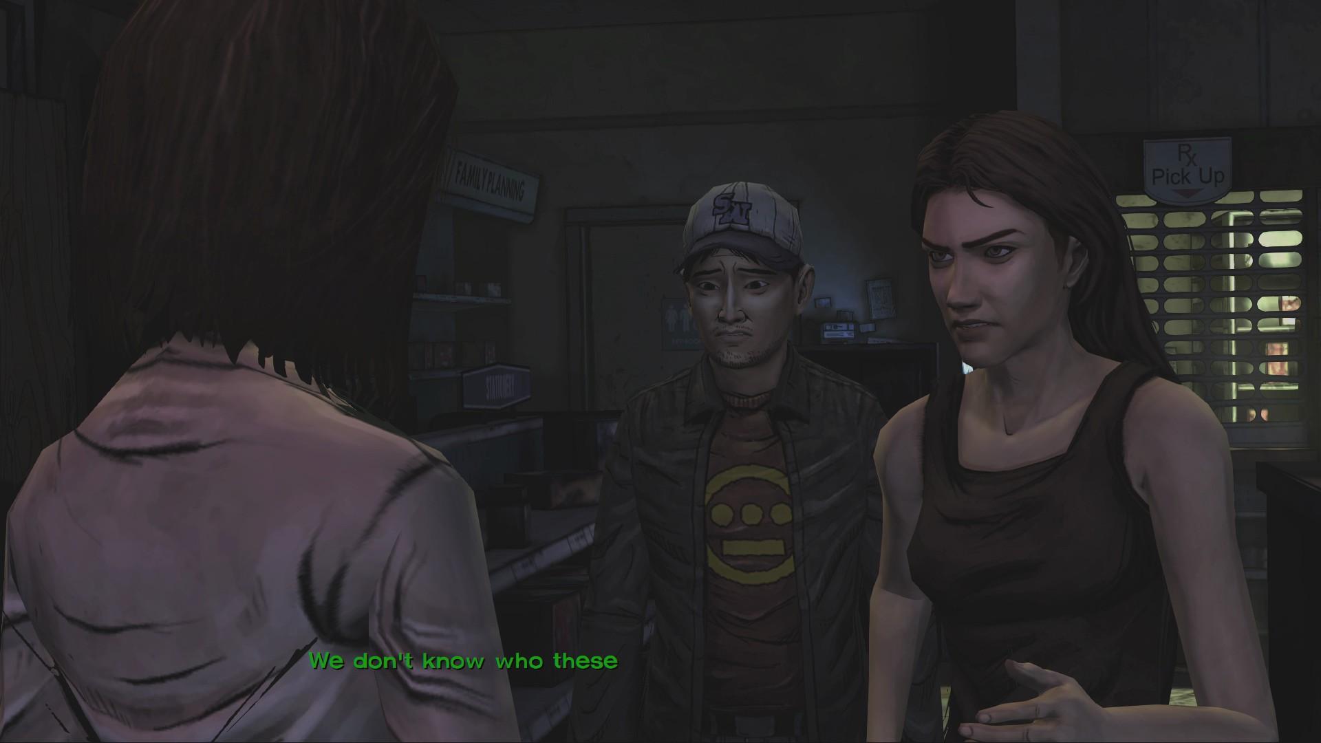 Test-Video The Walking Dead: Gefühlschaos nach der Zombieapokalypse - Die Nerven liegen blank. Charaktere streiten sich ziemlich oft in The Walking Dead.