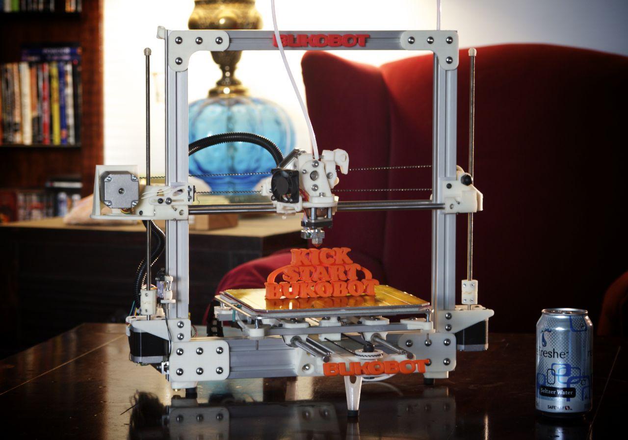 3D-Drucker: Bukobot, der Open-Source-3D-Drucker - Bukobot - der Open-Source-3D-Drucker von Diego Porqueras (Bild: Diego Porqueras)