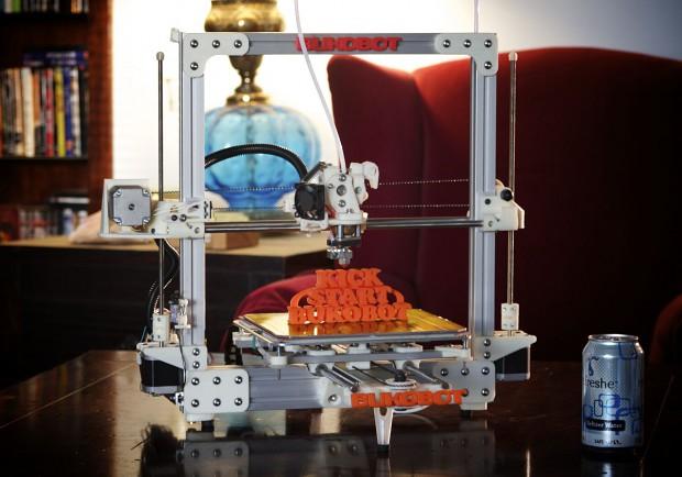 Bukobot - der Open-Source-3D-Drucker von Diego Porqueras (Bild: Diego Porqueras)