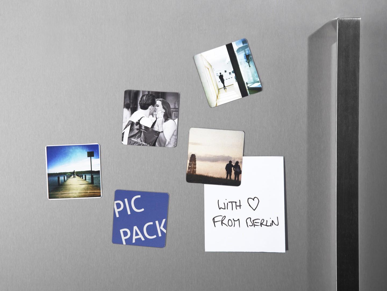 Kühlschrankmagnet : Kühlschrankmagnet mm gerundete ecken